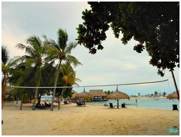 Maribago Bluewater Beach Resort on Mactan Island, Cebu, Philippines