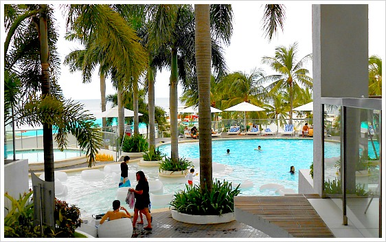 On Mactan Island, Movenpick Resorts & Hotel is one of the family friendly resorts you can find.