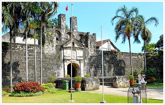 A sideview shot of Fort San Pedro in Cebu City, Philippines.