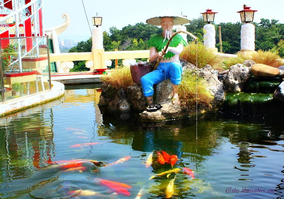 cebu-taoist-temple-pond