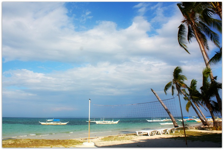 Alice Beach on Bantayan Island at Tickety Boo Beach Resort