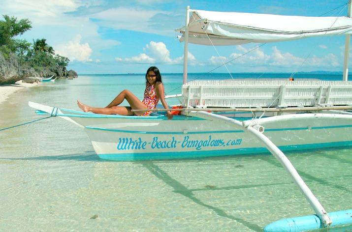 White Beach Bungalows Resort, Bantayan Island, Cebu Philippines