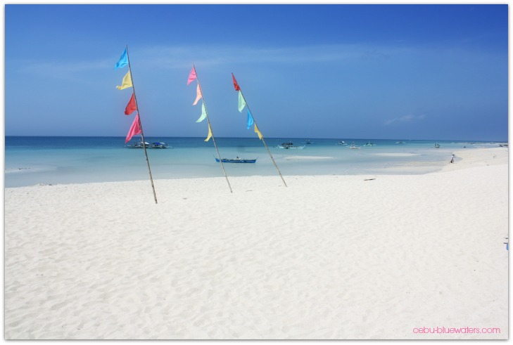Yooneek Beach Resort Beach Area, Bantayan island, Cebu, Philippines