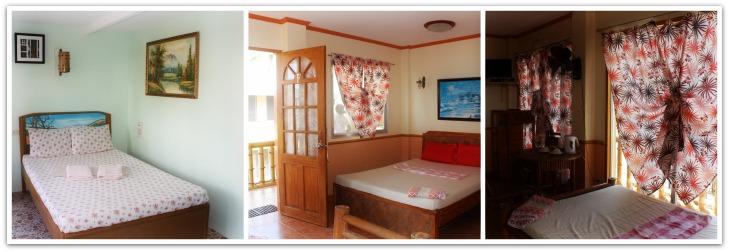 Yooneek Beach Resort Rooms, Bantayan Island, Cebu